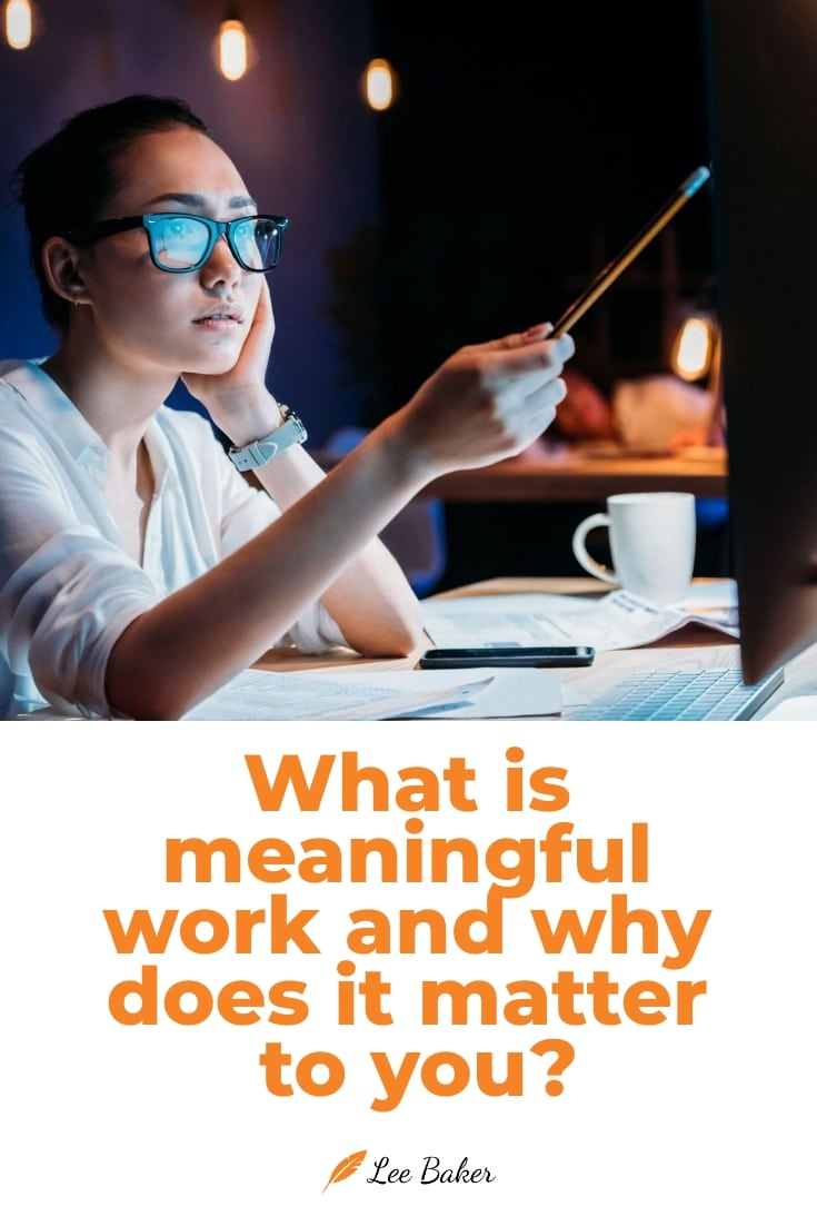 The Future of Meaningful Work